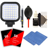 LED Light with Accessory Bundle for Canon T3i , T4i , T5 , T5i and T6