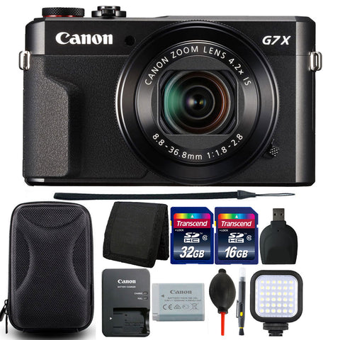 Canon PowerShot G7x Mark II 20.1MP Digital Camera 4.2x Optical Zoom with Ultimate Accessory Kit