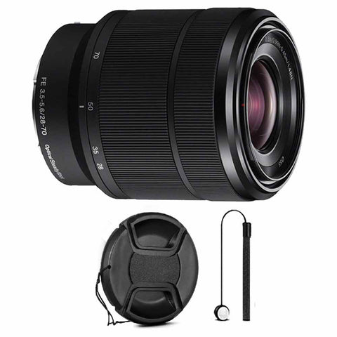 Sony FE 28-70mm F3.5-5.6 OSS E-Mount Lens with Free Accessory Bundle - SEL2870