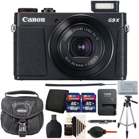 Canon PowerShot G9X Mark II Digital Camera with Accessories