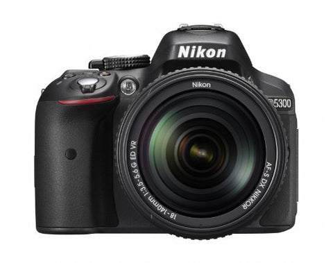 Nikon D5300 24.2 MP CMOS Digital SLR Camera with 18-140mm f/3.5-5.6G ED VR Auto Focus-S DX NIKKOR Zoom Lens