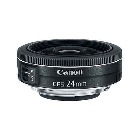 Canon EF-S 24mm f/2.8 STM Lens For Canon DSLR Camera