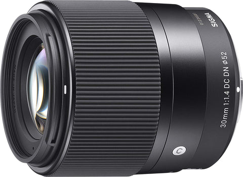 Sigma 30mm f/1.4 F1.4 Contemporary DC DN Lens for Sony Alpha E-Mount Cameras