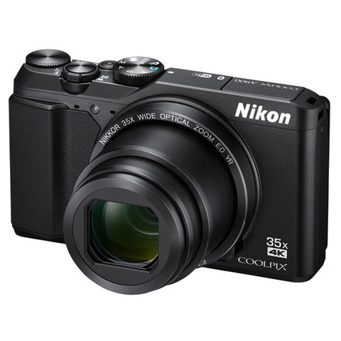 Nikon COOLPIX A900 20MP Digital Camera (Black)