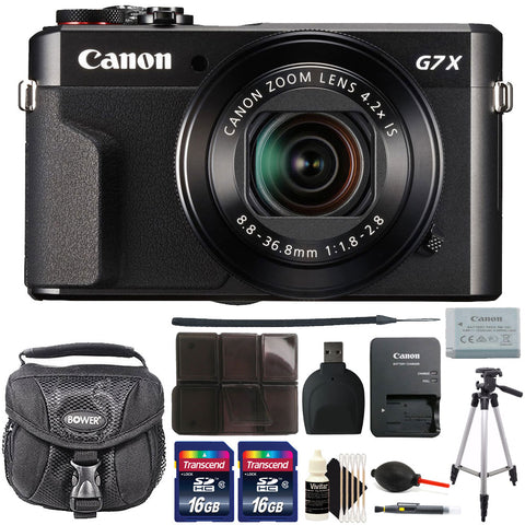 Canon PowerShot G7x Mark II 20.1MP Digital Camera with Accessories