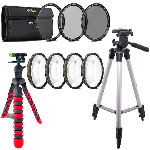 52mm Macro Filters with Accessories For Nikon D3200 , D3300 and D5300