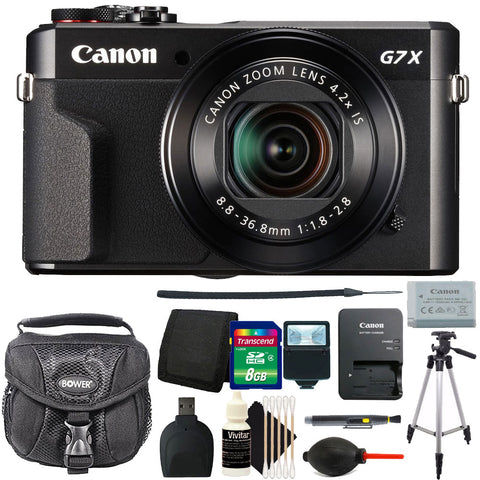 Canon PowerShot G7x Mark II 20.1MP Digital Camera 4.2x Optical Zoom with Accessories