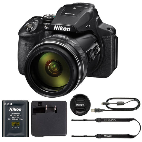 Nikon COOLPIX P900 Digital Camera with 83x Optical Zoom