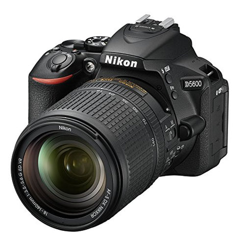 Nikon D5600 24.2MP Digital SLR Camera with AF-S DX NIKKOR 18-140mm f/3.5-5.6G ED VR Lens