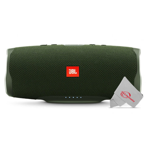 JBL Charge 4 Portable Wireless Bluetooth Waterprrof Speaker (Forest Green)