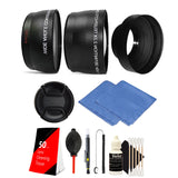 58mm Macro Kit with Lens Accessory Kit for Canon T6i, T6, T6s, T5i, T5, T4i  T3i and T2i