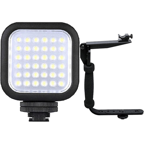 Bower VL8K Digital Compact High-Power LED Video Light with Accessories