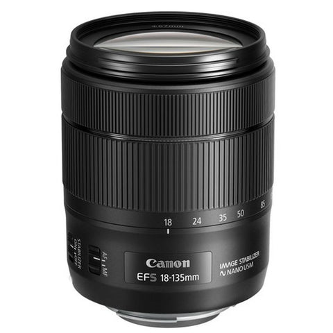 Canon EF-S 18-135mm f/3.5-5.6 IS NANO USM Lens with Accessories For Canon 70D , 77D , 760D and 1300D