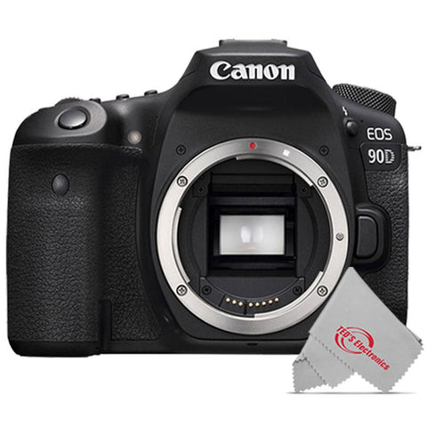 Canon EOS 90D 32.5MP Digital SLR Body Only