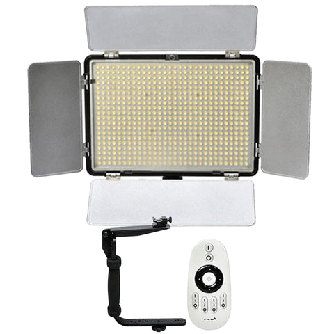 Vivitar 600 LED 2200 Lumens Video Light with Remote Accessory Kit