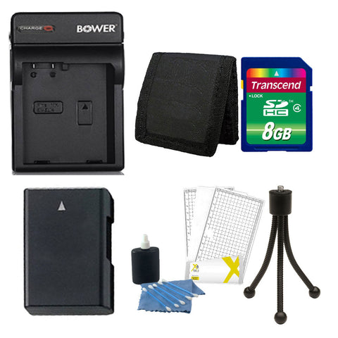 EN-EL14 Replacement Battery with 8GB Accessory Kit for Nikon