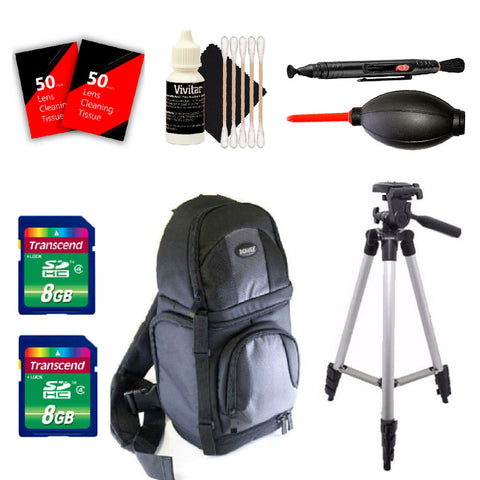 Tall Tripod , Camera Backpack and More Accessories for Pentax Digital SLR Cameras