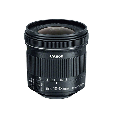 Canon EF-S 10-18mm f/4.5-5.6 IS STM Lens For Canon DSLR Camera