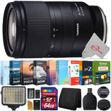 TAMRON 28-75mm f/2.8 Di III RXD E-Mount Lens/Full-Frame Format Lens for Sony E E-Mount Lens/Full-Frame Format Lens + Ultimate Accessory Kit