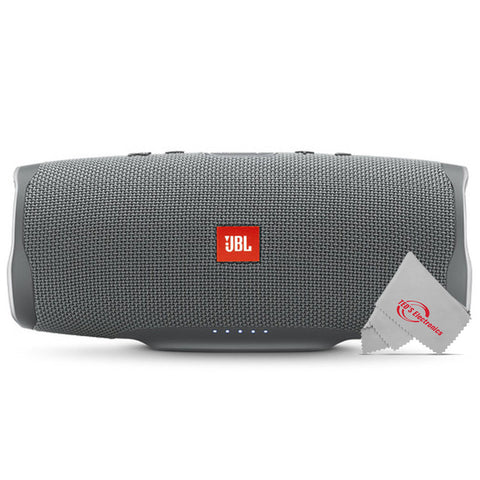 JBL Charge 4 Portable Wireless Bluetooth Waterprrof Speaker (Gray Stone)
