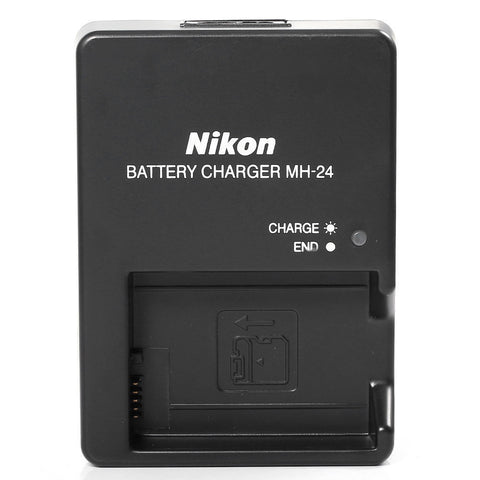 Nikon MH-24 Quick Charger for Nikon EN -EL14 Battery for Nikon D3200, D3300, D3400, D5300, D5500 and D5600 Cameras