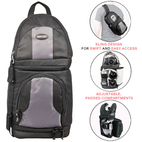 Bower Digital Pro Sling SLR Backpack SCB1450