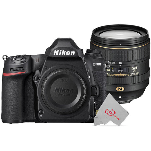 Nikon D780 24.5MP Digital SLR Camera with Nikon AF-S DX NIKKOR 16-80mm f/2.8-4E ED VR Lens