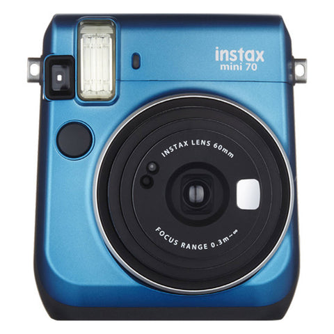 Fujifilm Instax Mini 70 Instant Film Camera Island Blue