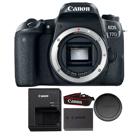 Canon EOS 77D 24.2MP DSLR Camera (Body Only)