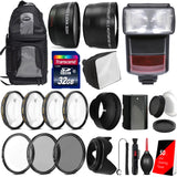 Canon EOS 5D Mark IV III II 6D I II 7D All Inclusive Premium Accessory Bundle