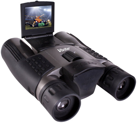 Vivitar VIV-CV-1225V 8MP 2-in-1 Binoculars and Digital Camera Black
