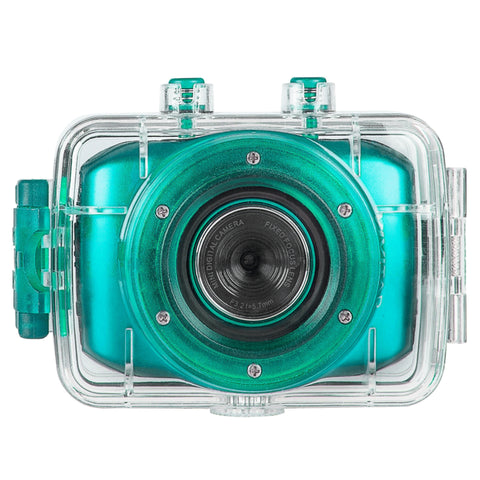Vivitar DVR781HD HD Waterproof Action Video Camera Camcorder Teal