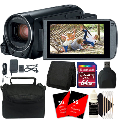 Canon VIXIA HF R800 HD Camera Camcorder with Accessory Kit