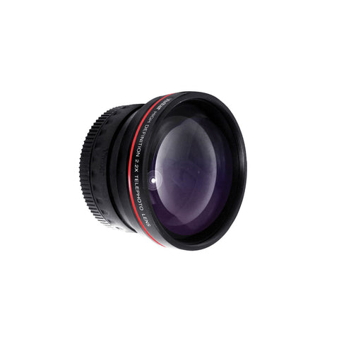 58MM Telephoto Teleconverter Lens with Cap