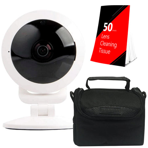 Vivitar IPC117-WHT Security HD Capture Camera Bundle White