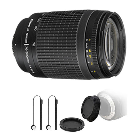Nikon 70-300mm f/4-5.6G Zoom Lens for Nikon DSLR Cameras with Ultimate Accessory Bundle