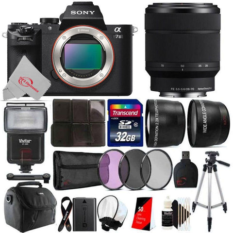 Sony Alpha a7 II Mirrorless Digital Camera with FE 28-70mm f/3.5-5.6 OSS Lens Kit