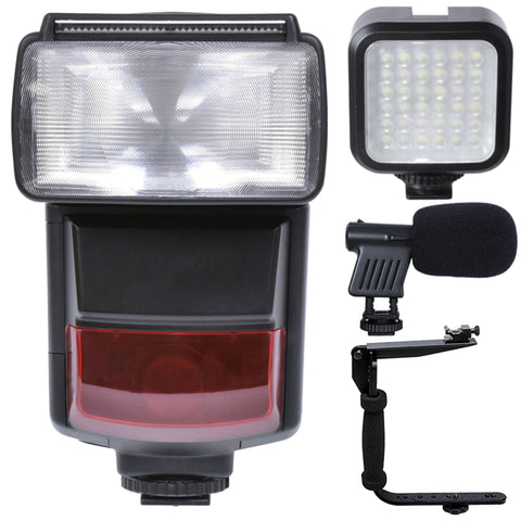 e-TTL Speedlite Flash with Accessory Kit For Canon 80D , 760D and 1300D