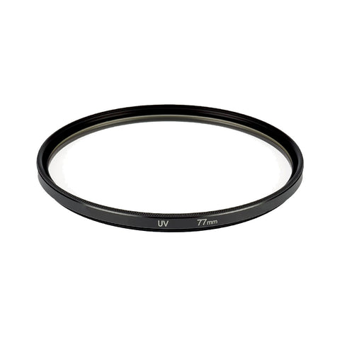 Digital SLR High-Definition 77mm UV Filter for Nikon and Canon Cameras