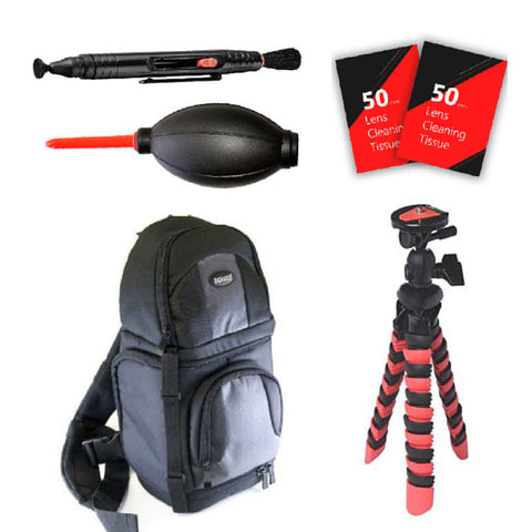 Tripod Backpack and More for Nikon D3300, D3400, D5300, D5500, D7100, D7200 and All Nikon Digital Cameras