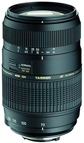 Tamron Auto Focus 70-300mm f/4.0-5.6 Di LD Macro Zoom Lens For Nikon