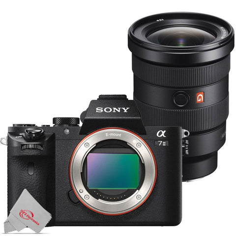 Sony Alpha a7 II 24.3MP Mirrorless Interchangeable Lens Digital Camera with Sony FE 16-35mm f/2.8 GM Lens