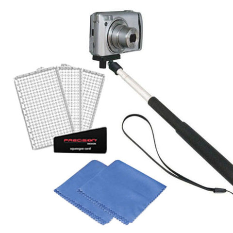 Selfie Stick Monopod with Accessories for Canon and Nikon Point and Shoot Digital Cameras