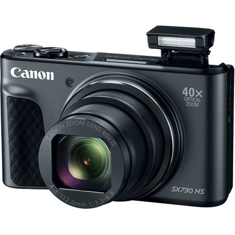 Canon PowerShot SX730 Digital Camera 20.3MP (Black) Wifi NFC