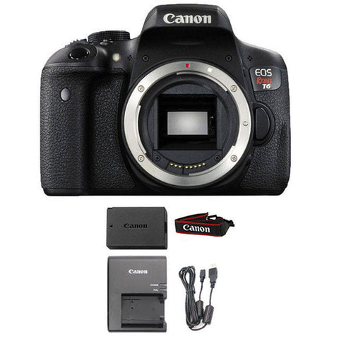 Canon EOS Rebel T6 Digital SLR Camera (Body Only) Wi-Fi Enabled