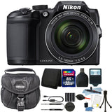 Nikon Coolpix B500 16MP 40x Optical Zoom Digital Camera Black with 64GB Accessory Kit