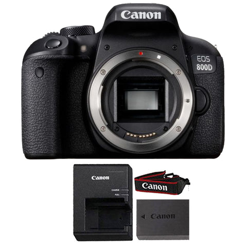Canon EOS Rebel 800D / T7i 24.2MP Wifi NFC Digic 7 CMOS Digital SLR Camera Body ONLY Black