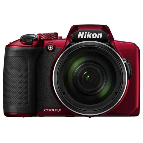 Nikon COOLPIX B600 16MP Full HD Video Recording Wi-Fi Digital Camera (Red)