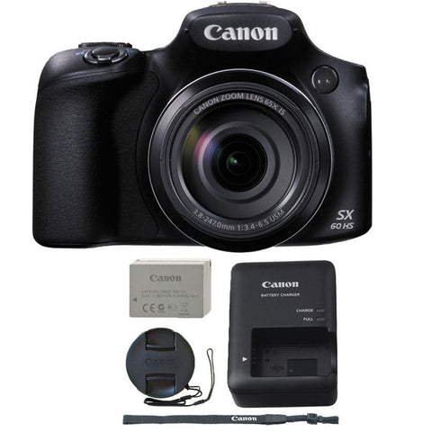 Canon PowerShot SX60 HS 16.1 Mp 65x Optical Zoom Digital Camera