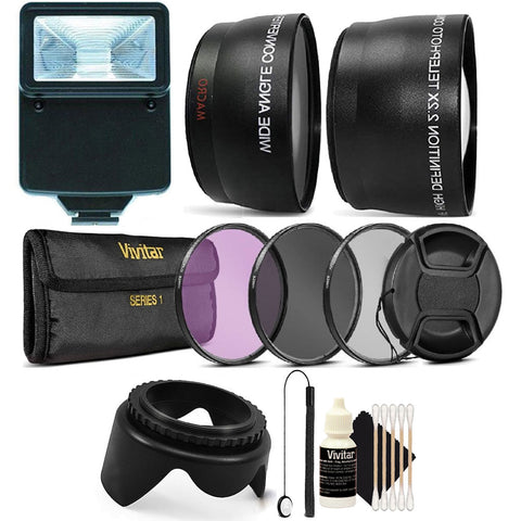 58mm Professional Lens Filter Accessory Kit